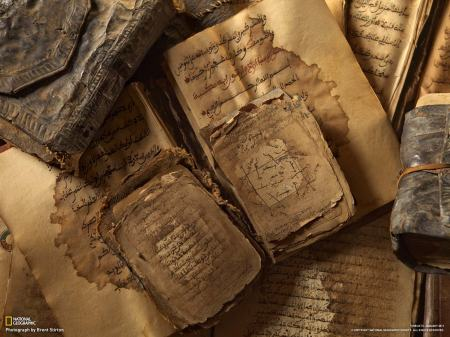 Ancient-y books